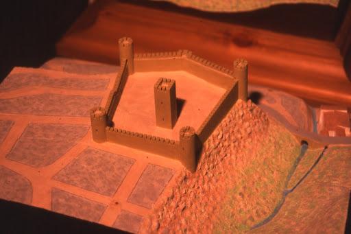 Maqueta Antiguo Castillo (Ojén)