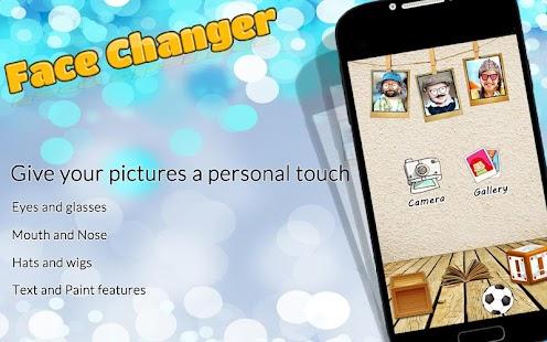 Face Changer App - náhled