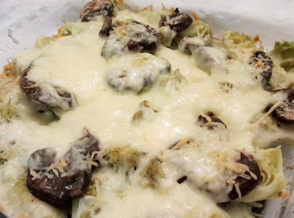 Remove from oven - turn on broiler. Top with Monterey Jack cheese; Return to...