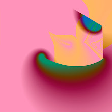 Photo: Bird in a Peapod Boat on a Pink Sea