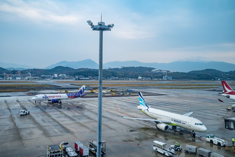 福岡空港 国際線ターミナル 展望デッキ1
