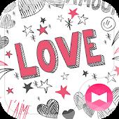 Tải Game Hình nền xinh xắn Hearts & Love