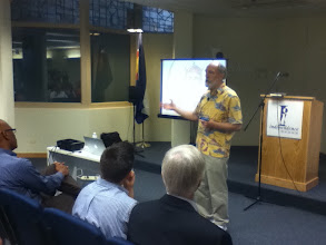 Photo: Randal O'Toole discusses housing politics at the Independence Institute.