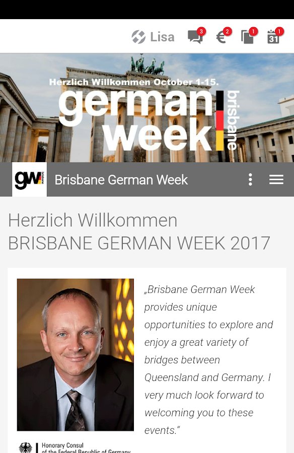German Week- screenshot