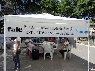 """Lançamento da Campanha """"FALE PELA AMPLIAÇÃO DA REDE DE ATENÇÃO DST/AIDS NO SERTÃO DA PARAÍBA"""" - PATOS/PB - DEZ 2010"""