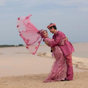 Ariff & Fatihah by Hanif Ismail - Wedding Bride & Groom