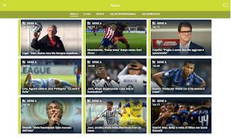 Screenshot of Serie A TIM