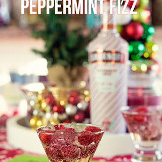 Raspberry Peppermint Fizz.