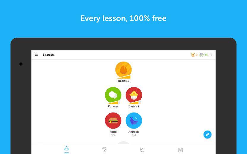 Screenshot 11 for Duolingo's Android app'