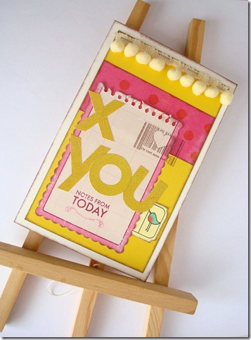 Card Giallo & Fucsia ASI