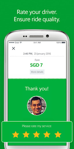 Grab - Cars, Bikes & Taxi Booking App  5