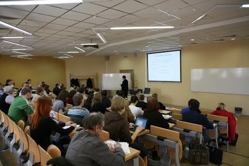 Аудитория МИРБИСа для семинаров SEO