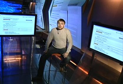 Николай Коноплянников в студии iTV