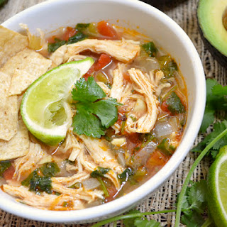 Chicken and Lime Soup.
