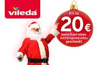 Angebot für Vileda Weihnachtspromotion im Supermarkt