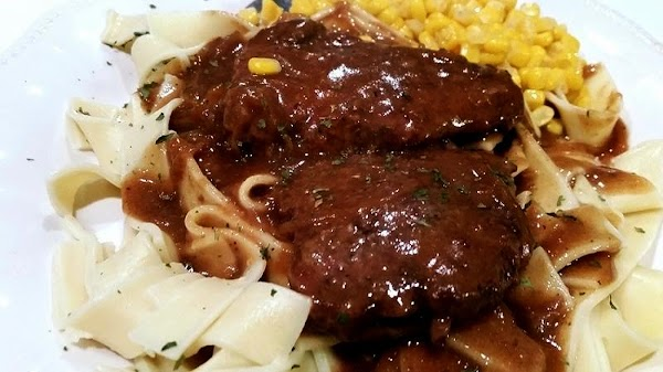 Awesome Fork Tender Steak & Gravy - Over Noodles Recipe