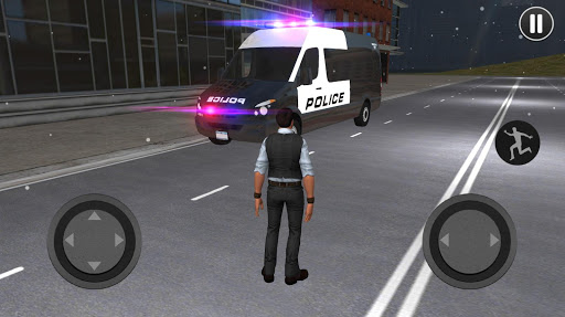 American Police Van Driving: Offline Games No Wifi filehippodl screenshot 10