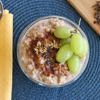 Perfect Chai-Spiced Oatmeal.