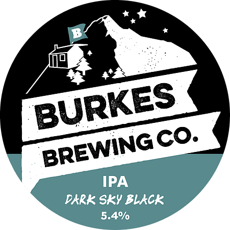 Logo of Burkes Dark Sky Black IPA