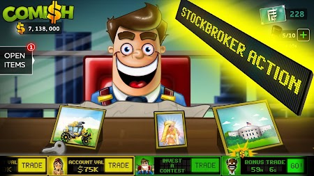 Comish Clicker - Idle Tycoon PRO APK screenshot thumbnail 1