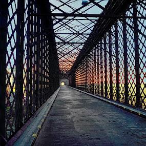 Tczew by Mirek. Mirek. - Buildings & Architecture Bridges & Suspended Structures