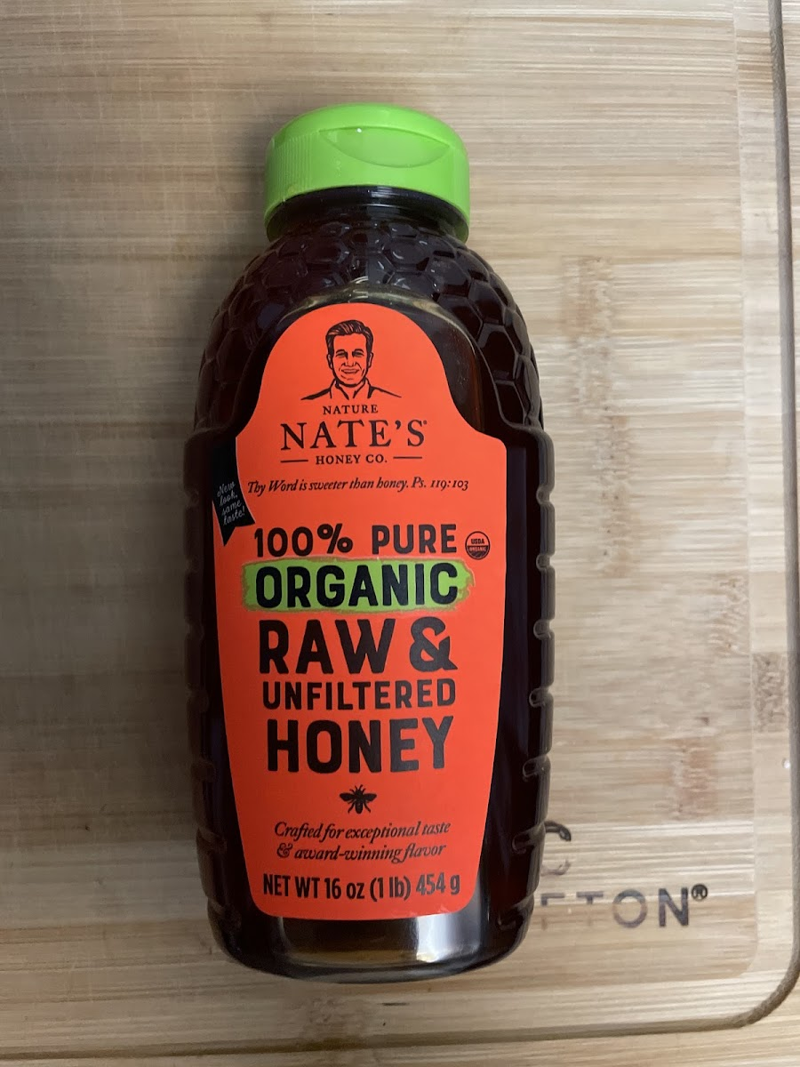 100% Pure Organic Raw & Unfiltered Honey