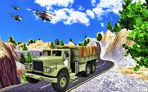 Army Transport Truck Driver : Military Games 2019 apkmind screenshots 5