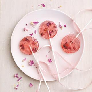 Rose Saffron Lollipops Recipe