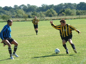 Photo: 04/09/04 v Sarratt (HSCL Division 1) 0-0 - contributed by Martin Wray