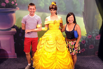Photo: Brock and Jules with Belle http://ow.ly/caYpY