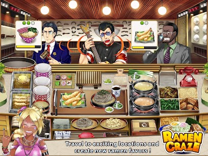 Ramen Craze – Fun Kitchen Cooking Game Apk Download For Android and Iphone 5