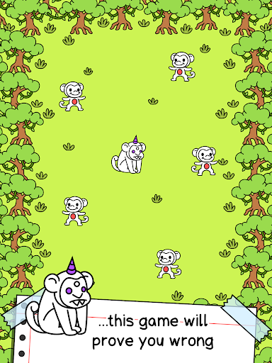 Monkey Evolution - Simian Missing Link Game screenshot 10