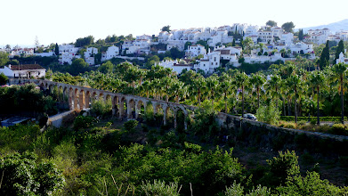Photo: An aqueduct to feed the orchards below