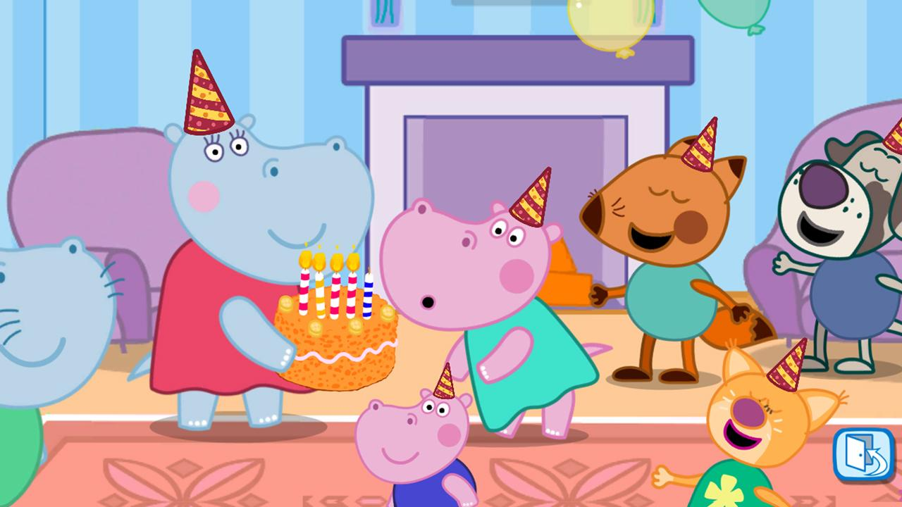 Kids birthday party- screenshot