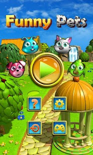 Funny Pets Match 3 Free- screenshot thumbnail