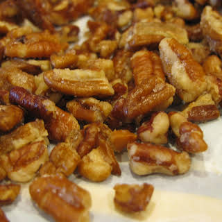 Easy Candied Pecans.
