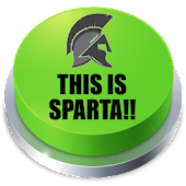 THIS IS SPARTA!! Button