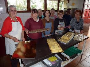 Photo: L'équipe de cuisinières au complet