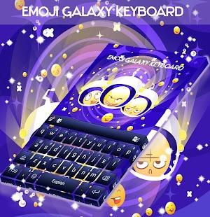 Klávesnice Emoji Galaxy - náhled