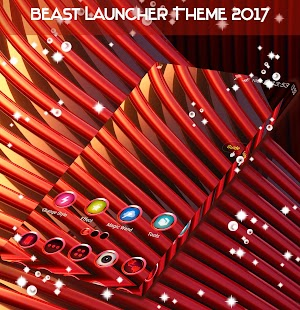 Red Launcher Theme 2017 - náhled