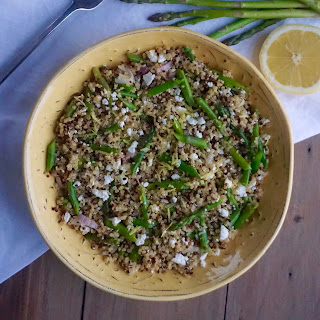 Lemon Asparagus Quinoa Recipe
