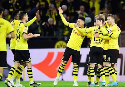 Un partage et de nombreux buts au sommet de la Bundesliga entre Dortmund et Leipzig
