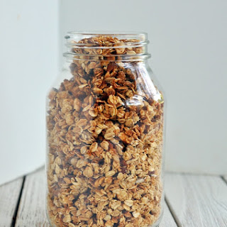 Maple Vanilla Almond Granola.