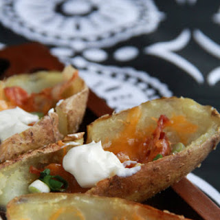 Healthy Baked Potato Skins