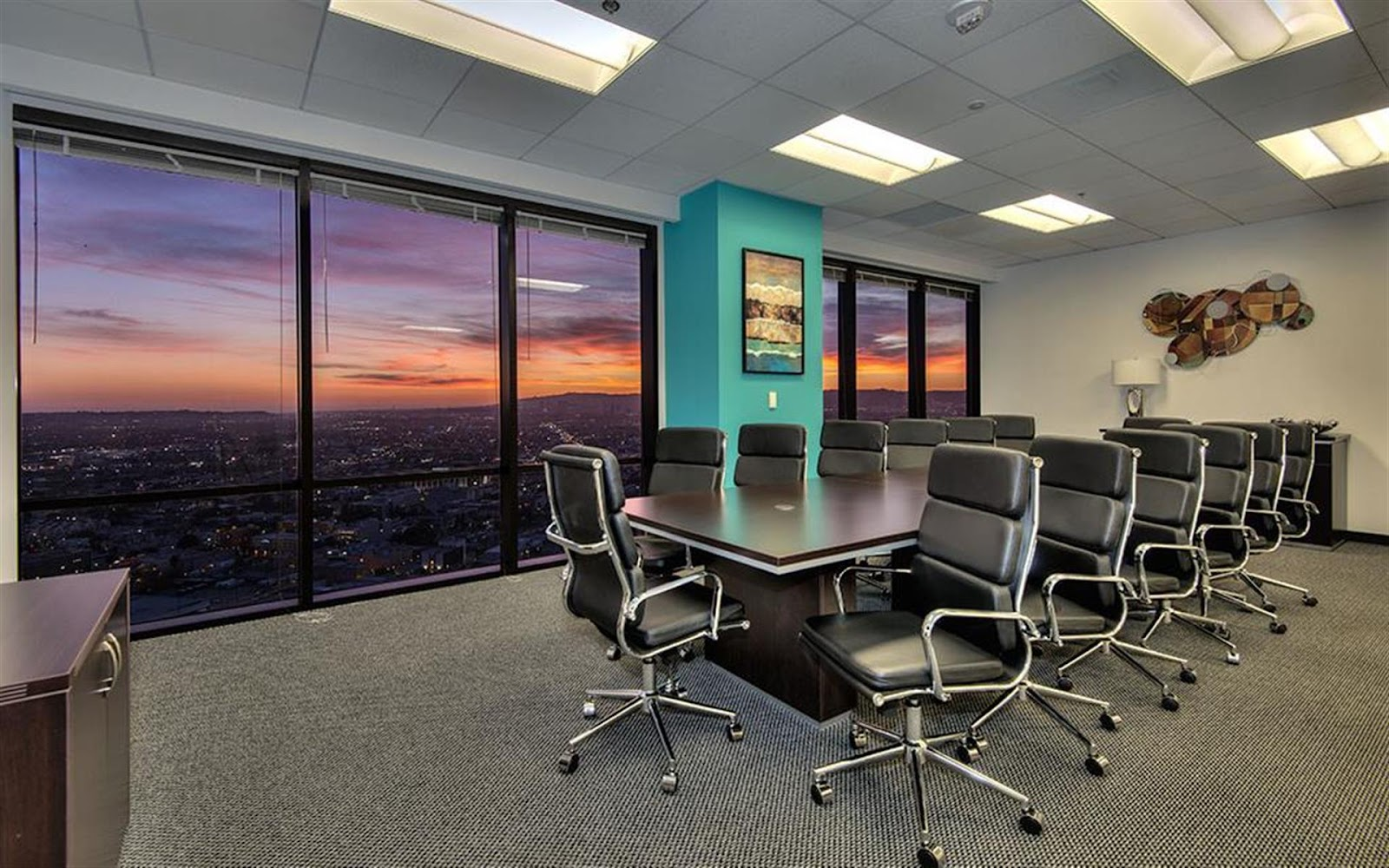 salas de reuniões - PENTHOUSE AT TITAN OFFICES  (LOS ANGELES)