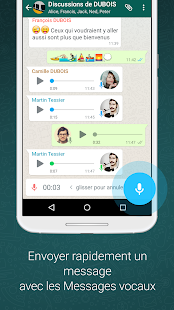 WhatsApp Messenger – Vignette de la capture d'écran