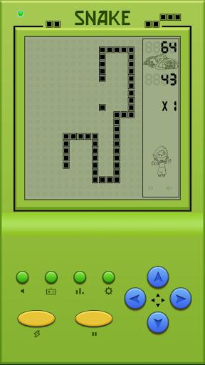 Classic Arcade Game Snake