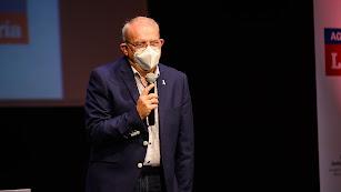 Antonio Bonilla en los VIII Premios de la Agricultura Almeriense.
