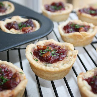Cranberry Onion Crab Cups