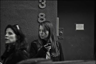 Photo: texting in the village